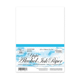 Couture Creations White Yupo Paper 5x7 (200gsm | 10pc)
