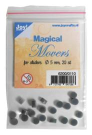 Joy! Magical Movers voor sliderstencils -  5 mm 20 Stuks - 6200/0110