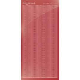 Hobbylines sticker - Mirror Christmas Red