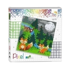 Pixelhobby Set In het bos 44010
