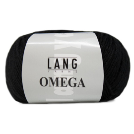 Lang Yarns - Omega - 004 Black