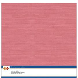 Linnenkarton - 30.5 x 30.5 - Flamingo