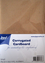 Joy! Crafts Ribbelkarton A4 10vl 8089/0214 F - flute / S