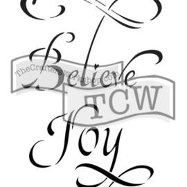 TCW2146 Believe 6x9
