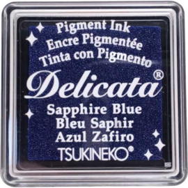 Delicata Saphire blue Small inkpad DE-SML-318