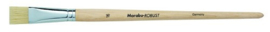 Penseel robust witte platte borstel - Taille 16  Marabu