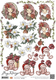 3D Knipvel - Amy Design - Kerst CD10297