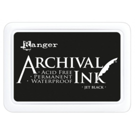 Ranger • Archival ink pad jet black