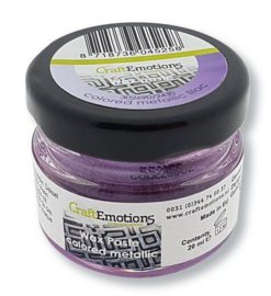 CraftEmotions Wax Paste metallic colored - lila 20 ml