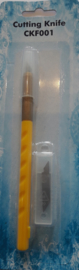 CKF001Cutting knife + 5 spareblades