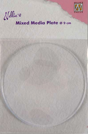 "NMMP005Plate ""round"" 90mm"
