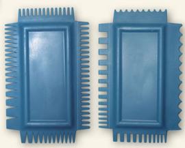 NMMC001Mixed media Art Combs (2 pcs/pkg)