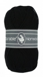Durable Norwool Zwart