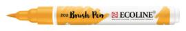 Ecoline Brush Pen Donkergeel 202
