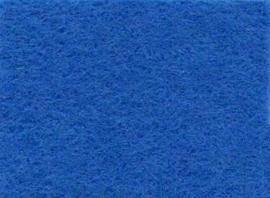 Viltlapjes viscose middenblauw  20x30cm - 1mm