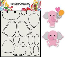 Dutch Doobadoo Card Art Olifant A5 470.713.795