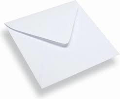 Vierkante enveloppen