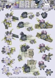 3D Knipvel - Precious Marieke - Bloemdecoratie - CD10378