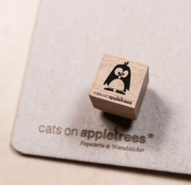 Ministempel Pinguin Oscar