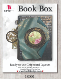 icraft - Book Box ready to use chipboards layouts