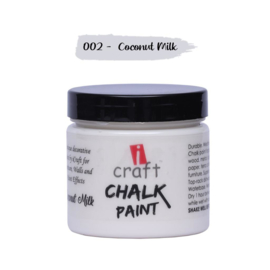 icraft chalk paint 50ml Coconut Milk  002