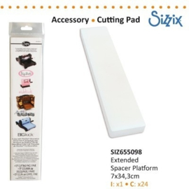Sizzix Extended Spacer Platform 655098