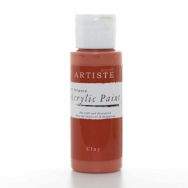 Docrafts - Acrylic Paint (2oz) - Clay