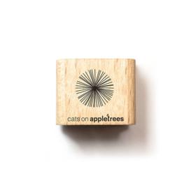 Cats on Appletrees - 2671 - Stempel - Cirkel 7 - Lijnen
