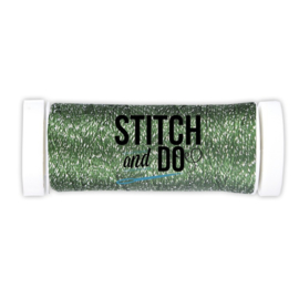 Stitch and Do Sparkles SDCDS07 Embroidery Thread Forest Green