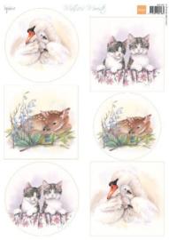 Marianne design Knipvellen Mattie's Mooiste - Babydieren MB0183