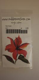 Rubbernecker - Red Flower
