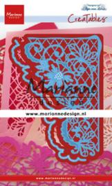 Marianne design Creatables stencil Anja's flower corner lr0642