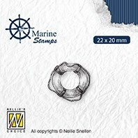 """VCS003 CLEAR STAMPS VARIOUS DESIGNS """"MARITIME: LIFEBUOY"""""""