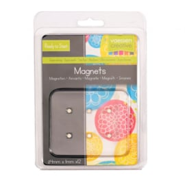 Vaessen Creative • Magneet Ni35 superstrong Ø4x1mm 12pcs