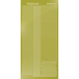 Hobbydots sticker - Mirror - Yellow