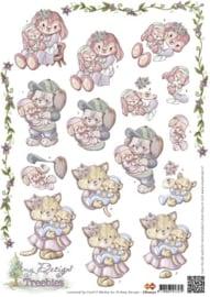 3D Knipvel - Amy Design - Treebies geboorte CD10272