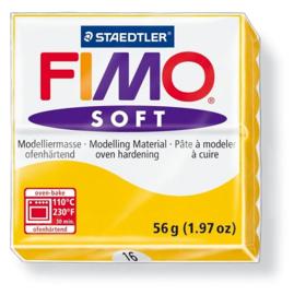 Fimo soft boetseerklei 56 g zonnegeel