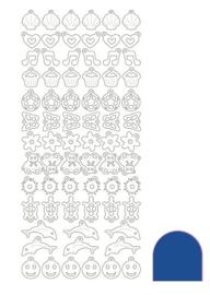 Sticker Charm - Mirror Blue