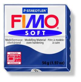 Fimo soft boetseerklei 56 g windsorblauw
