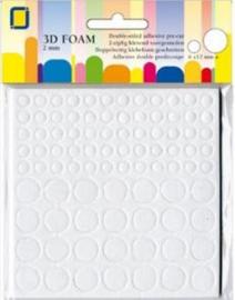 JeJe Foam rounds 2 X 6 x 12 mm