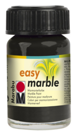 Marabu EASY MARBLE 15 ML-Zwart