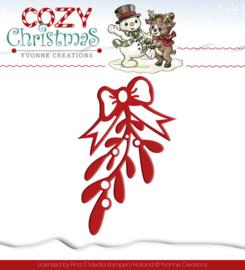 Die - Yvonne Creations - Cozy Christmas - Mistletoe