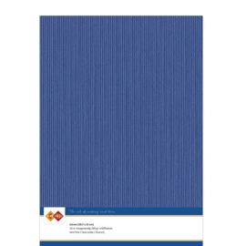 Linnenkarton - A4 - Ultramarijn