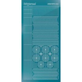 Hobbydots sticker - Mirror - Turquoise