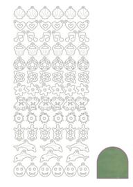 Sticker Charm - Mirror Apple
