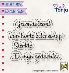 "Nellie Snellen - DTCS029 - Dutch Texts - ""Gecondoleerd etc..."""