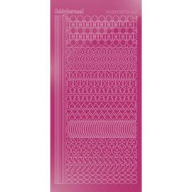 Hobbydots sticker - Mirror - Pink