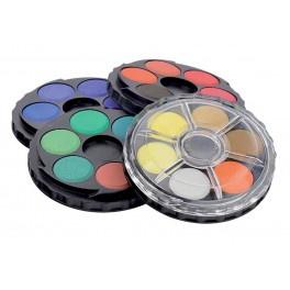 Aquarel verfset carousel 24 kleuren