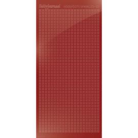 Hobbydots sticker Sparkles 01 Mirror Red