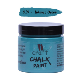 icraft chalk paint 50ml Intense Ocean 019